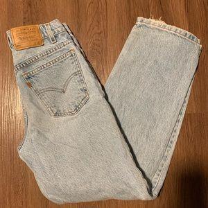 Levi's 550 Orange Tab Jeans